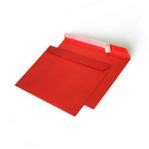 Конверт красный С6 114х162 мм, силикон, 120 г.