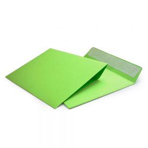 Конверт зеленый С6 114х162 мм, силикон, 120 г.