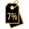 скидка на упаковку 7%