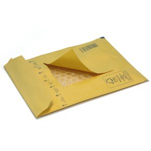 Пакет с воздушной подушкой, E/15, коричневый