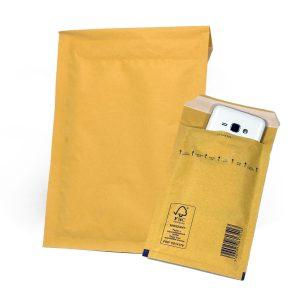 Пакет с воздушной подушкой, H/18, коричневый