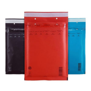 Пакеты с воздушной подушкой цветные