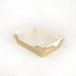 Салатник Opsalad 400 с прозрачной крышкой
