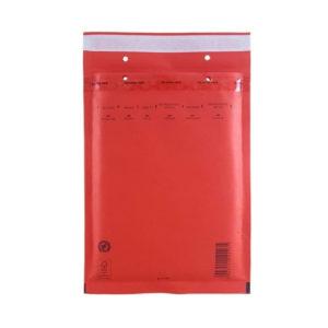 Пакет с воздушной подушкой, D/14  красный 200х275+50 мм