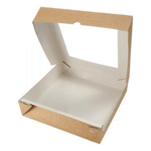 Упаковка универсальная с окном  Box 1500, 200х200х40 мм