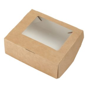 Упаковка универсальная с окном  Box 300, 100х80х35 мм